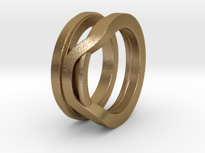 Balem's Ring1 - US-Size 7 1/2 (17.75 mm) 3d printed
