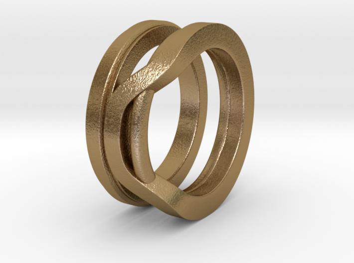 Balem's Ring1 - US-Size 4 1/2 (15.27 mm) 3d printed