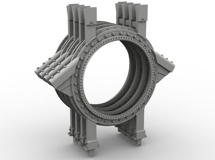 1/35 SPM-35-023A Humvee turret ring, x4 in set 3d printed
