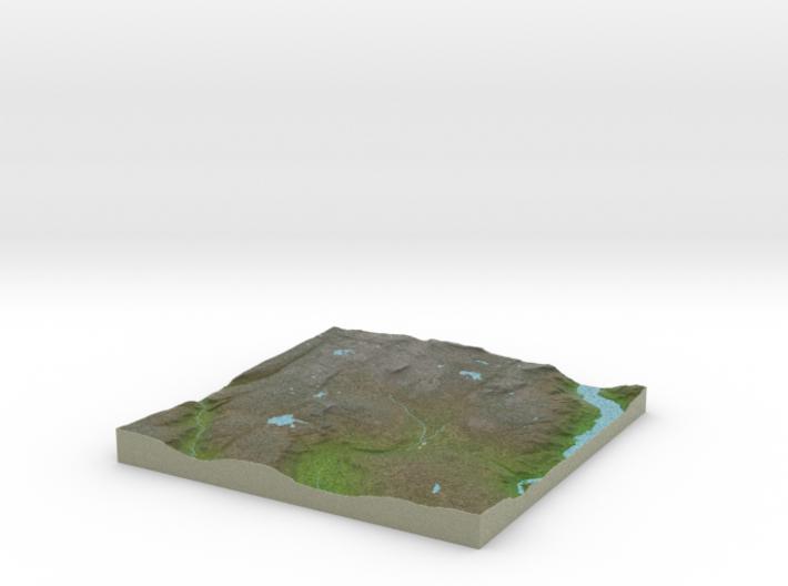 Terrafab generated model Mon Jun 29 2015 10:18:25 3d printed