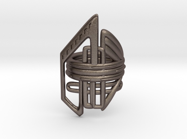 Balem's Ring2 - US-Size 2 1/2 (13.61 mm) 3d printed