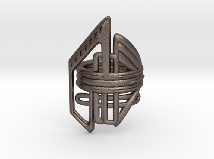 Balem's Ring2 - US-Size 3 (14.05 mm) 3d printed