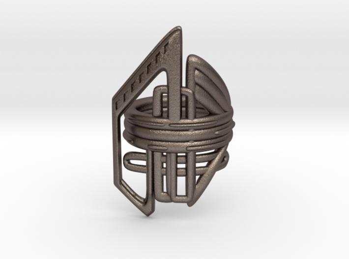 Balem's Ring2 - US-Size 6 1/2 (16.92 mm) 3d printed