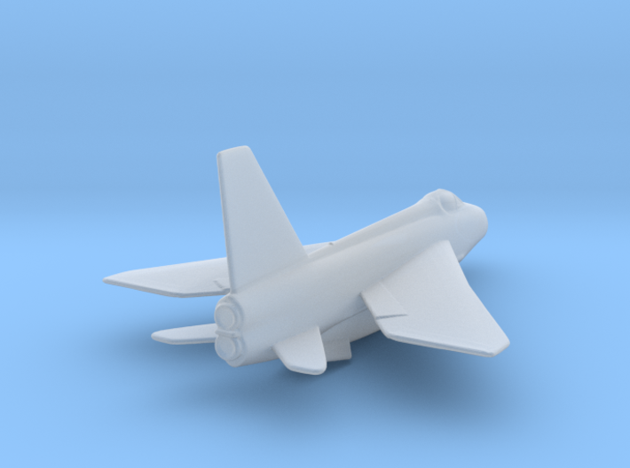 RAF Lightning Rescaled 1to400 3d printed