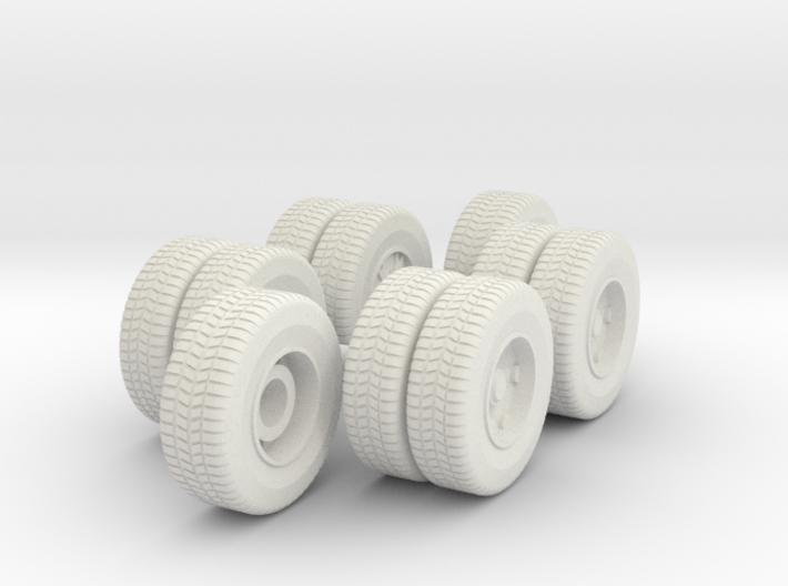 Mack CF wheels 3d printed