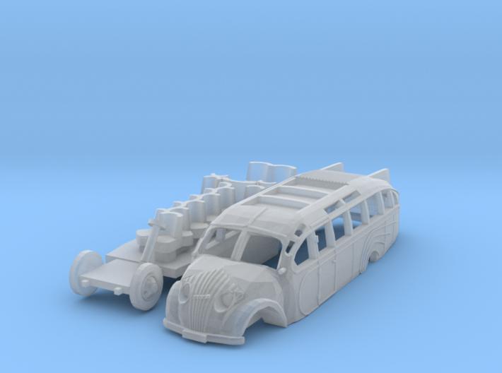 Opel Blitz Straßenzeppelin (TT 1:120) 3d printed
