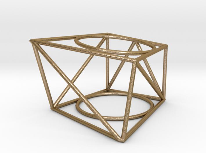 Geometric Ring 3d printed