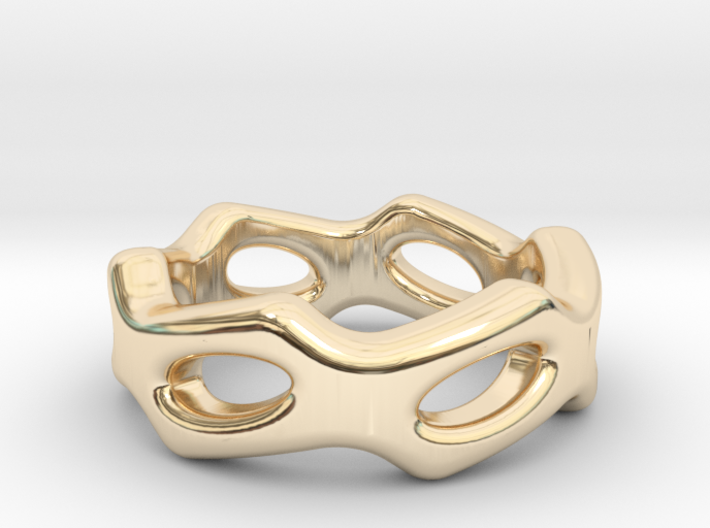 Fantasy Ring 16 - Italian Size 16 3d printed