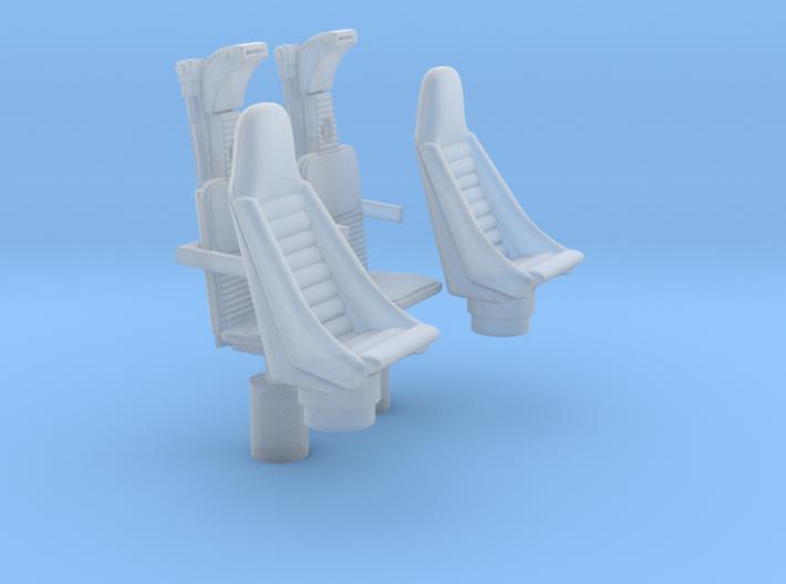YT1300 HSBRO CABIN COCKPIT SEATS 3d printed
