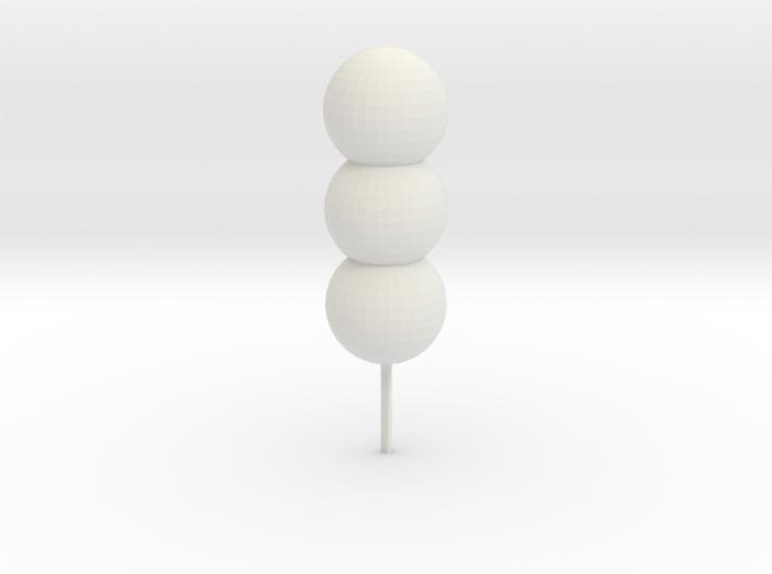 Ball phone charm 3d printed