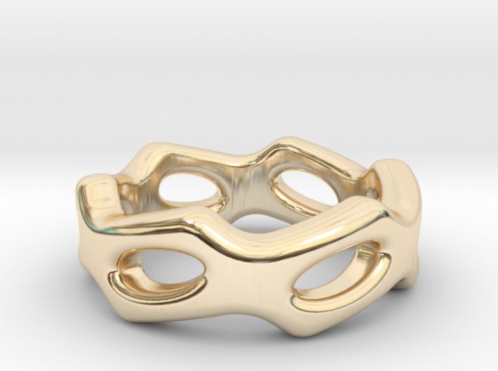 Fantasy Ring 28 - Italian Size 28 3d printed