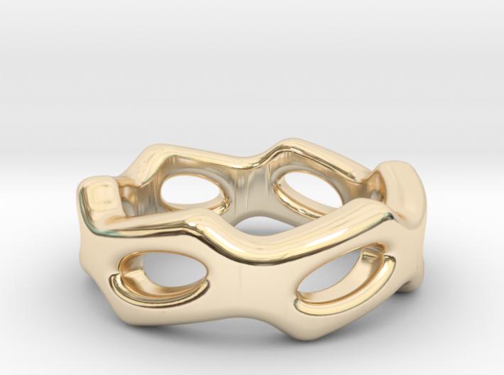 Fantasy Ring 30 - Italian Size 30 3d printed