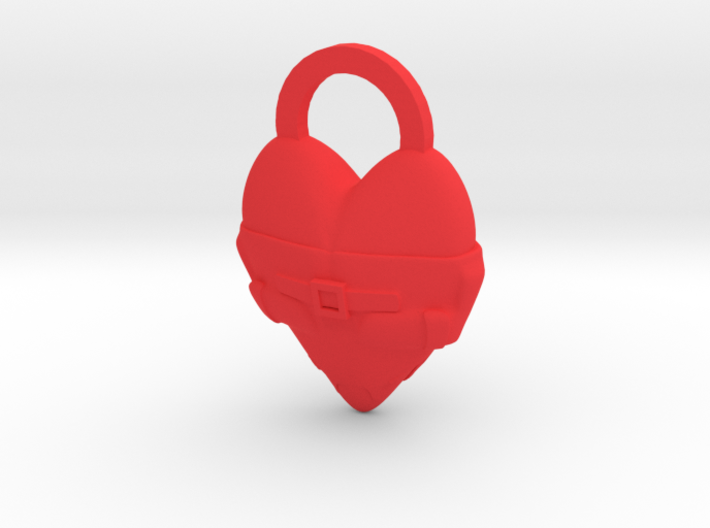 Crazy For Love Pendant 3d printed