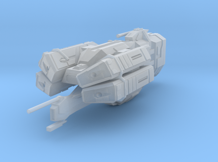 "Kushan ""Perdition"" Missile Destroyer 3d printed"