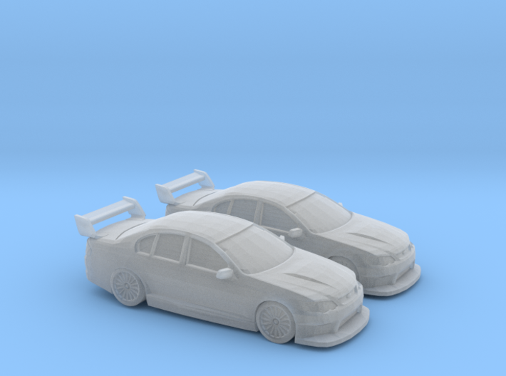 1/160 2X Ford Falcon Racer 3d printed