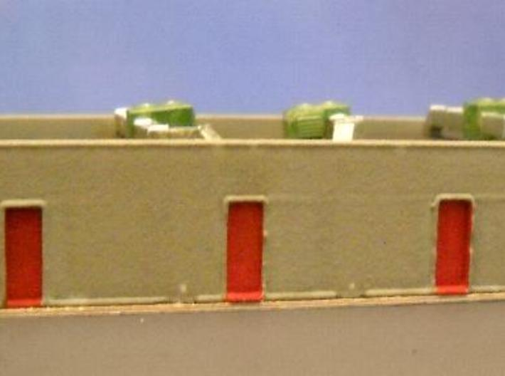 Strip Mall Walls 3A Z Scale 3d printed