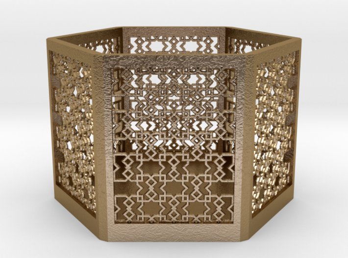 Islamic Pattern Candle Holder 2 3d printed
