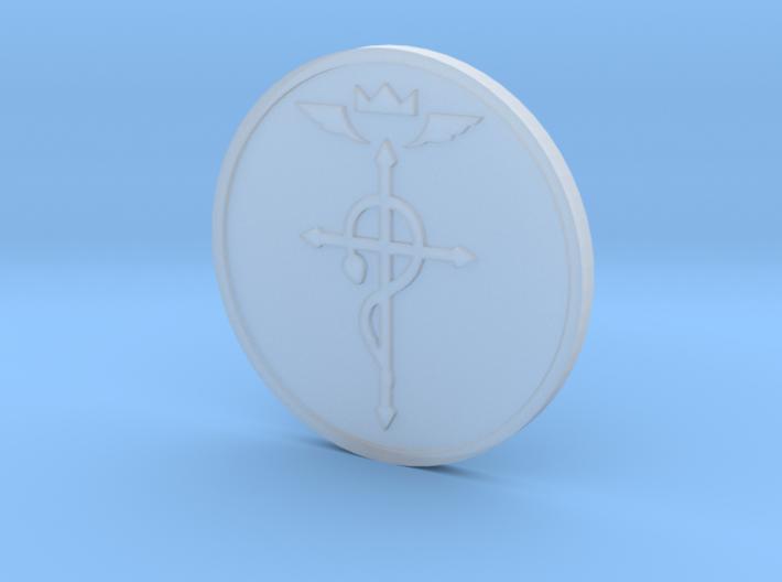 Elric Symbol Coin 3d printed