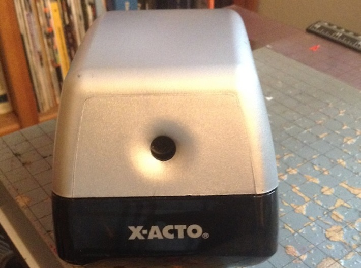 X-Acto Electric Pencil Sharpener 18xxx / 19xx Gear 3d printed Model 19XX CN appears to use the same gear