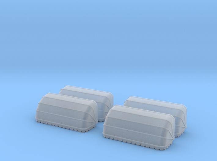 4x Korbmarkise 20 mm (N 1:160) 3d printed
