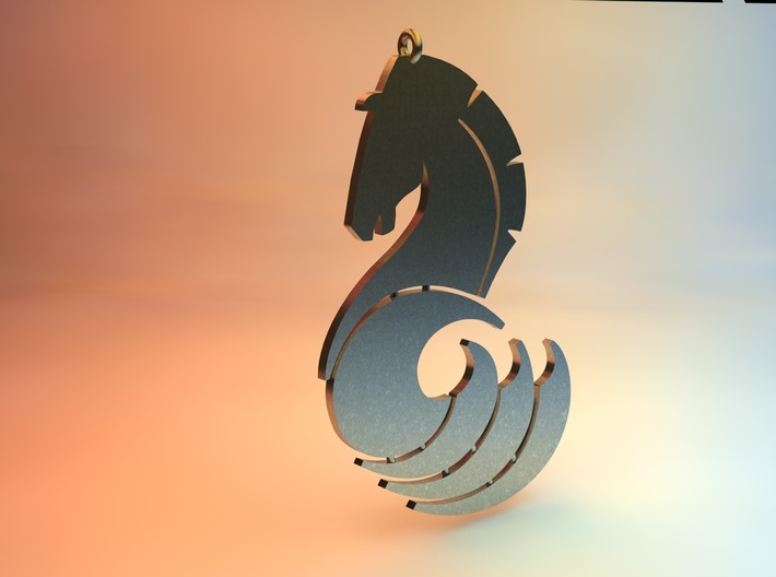 Seahorse by Martinus 3d printed