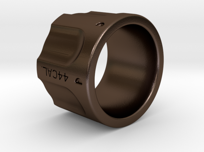 Revolver Ring Size 8 3d printed