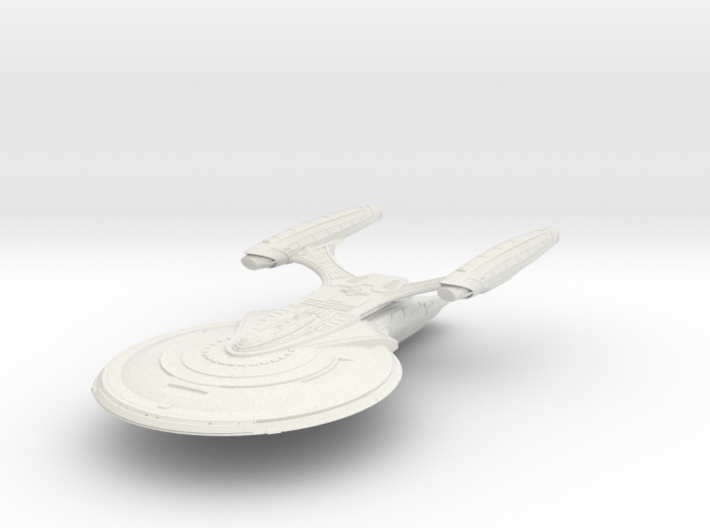 Nash Class BattleCruiser 3d printed