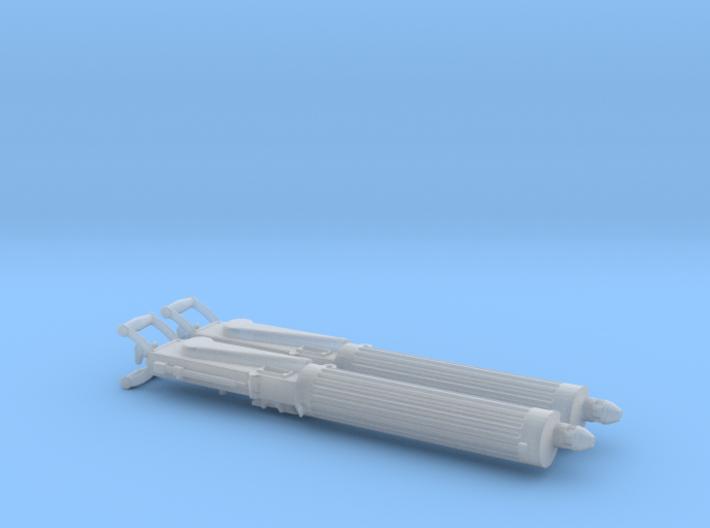 Two 1/24 Vickers Heavy Machine guns. 3d printed