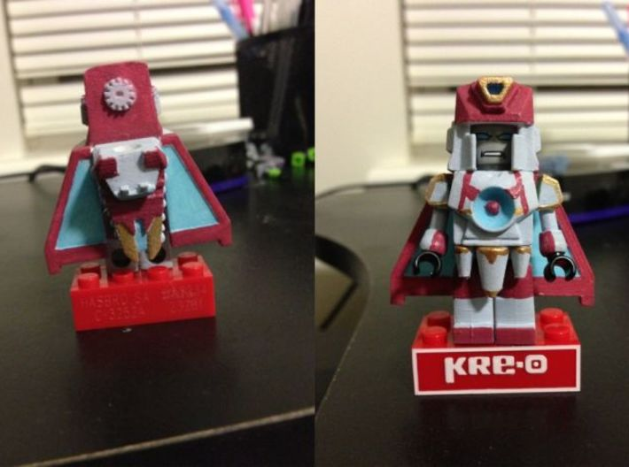 Chronobot Upgrade Set 3d printed