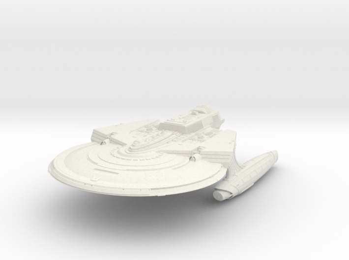 Reliant Refit Class Cruiser 3d printed