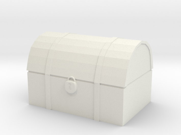 Tabletop: Wooden Chest 3d printed