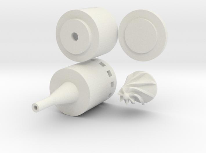 Solar Water Pump 3d printed
