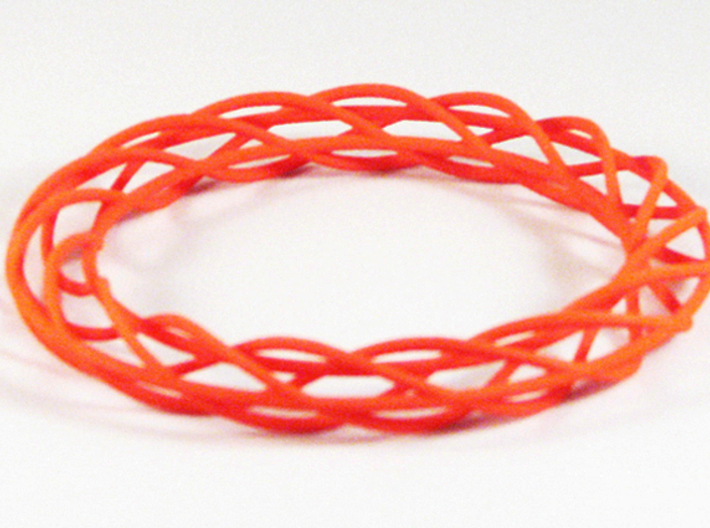Twist Bangle A02L 3d printed