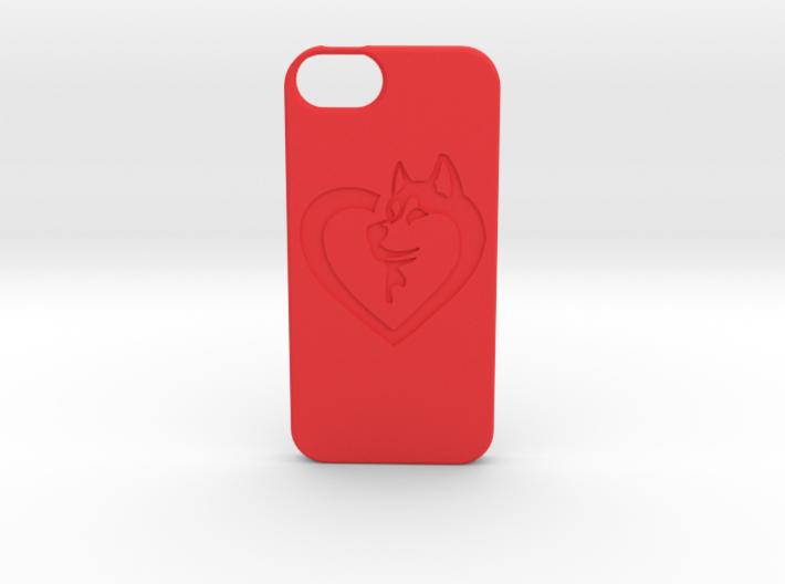 Husky Love iPhone5 Case 3d printed
