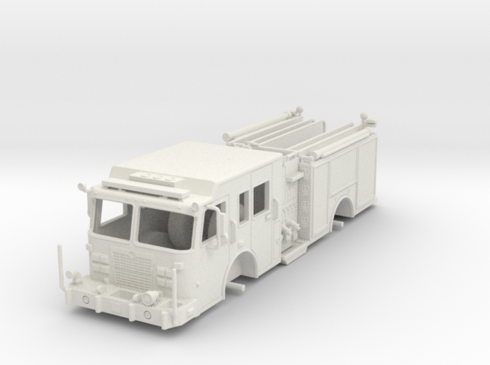1/64-Scale Contemporary Urban Pumper 3d printed