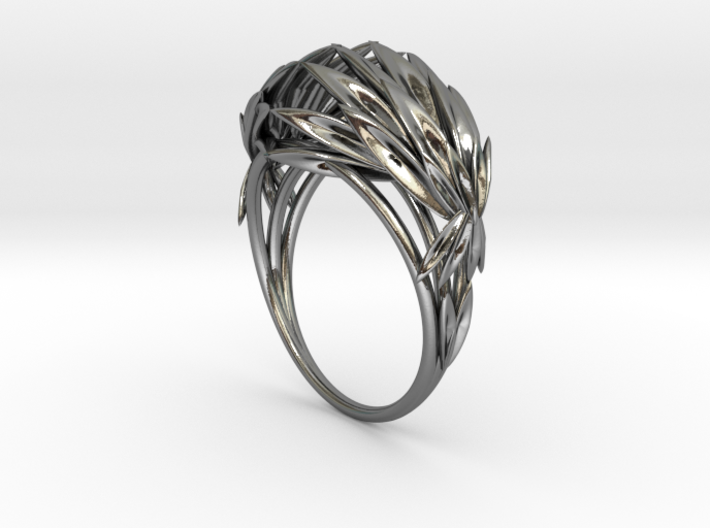 Oath Ring (Size 8) 3d printed