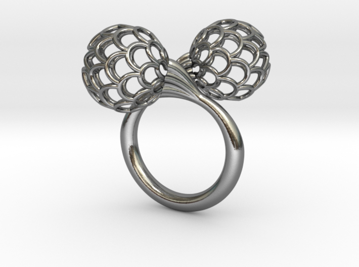 Bloom Ring (Size 6) 3d printed