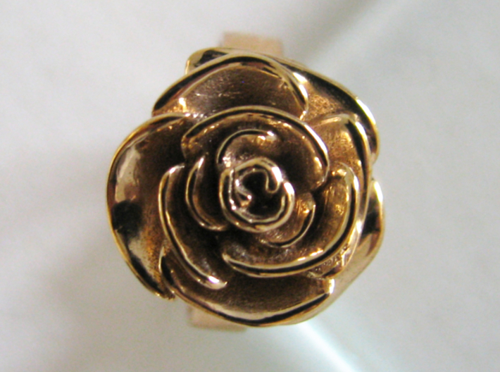 Rose Ring (multiple sizes) 3d printed