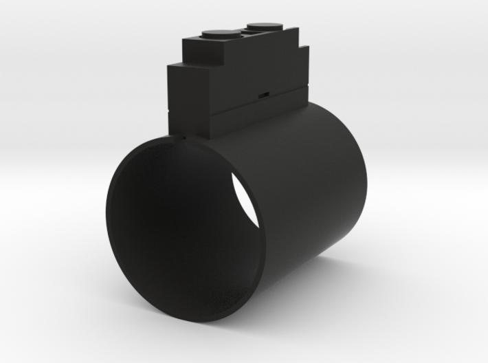 Darth Vader ROTJ control box (MHS size) 3d printed