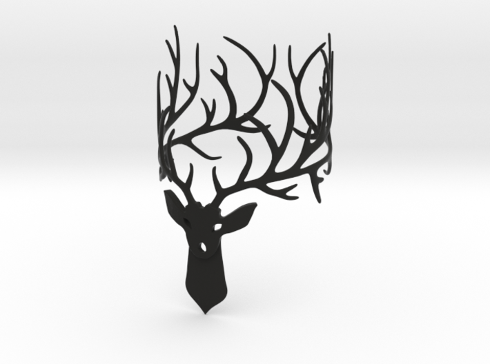Stag bracelet Size: XS 3d printed