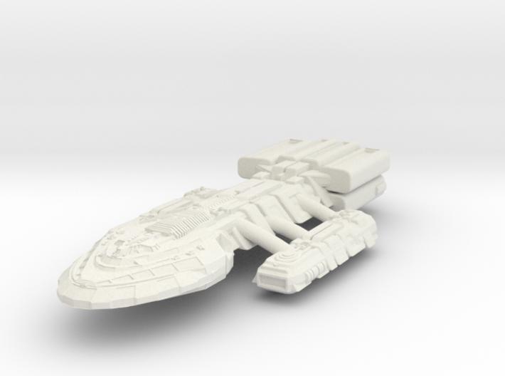 BattleHvyCruiser II 3d printed