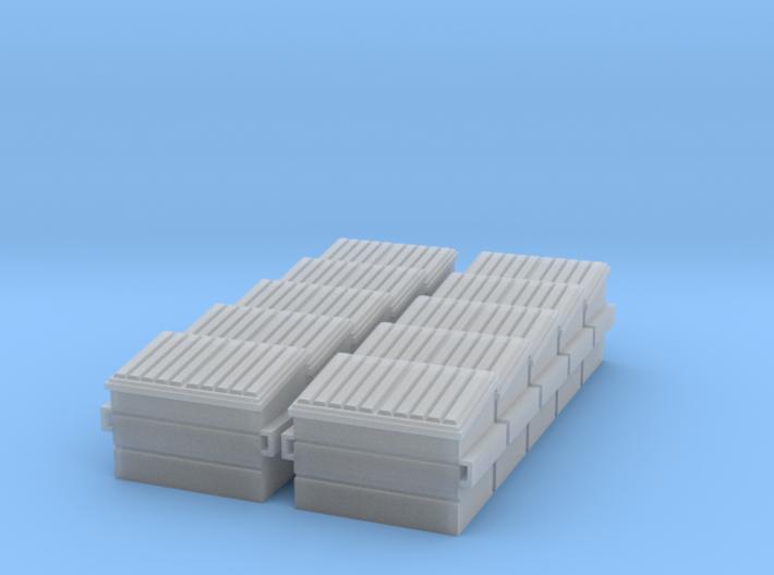 Dumpster (N - 1:160) 10X 3d printed
