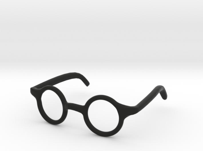Eye Glasses Frame Circle: FOR MSD BJD doll size 3d printed