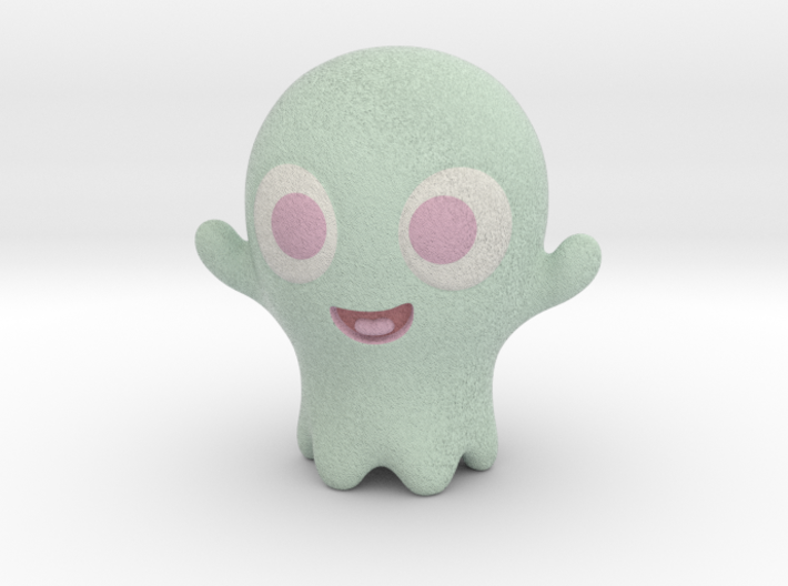 Boo-Boo the little ghost 3d printed