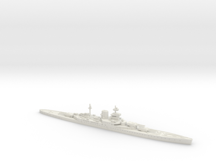 HMS Incomparable 1/1800 3d printed