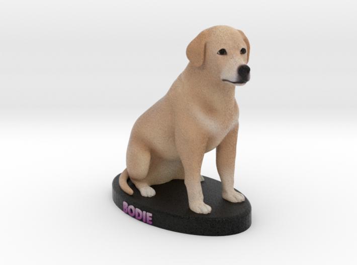 Custom Dog Figurine - Bodie 3d printed