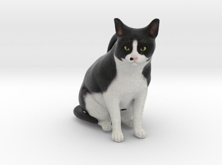 Custom Cat Ornament - Patch 3d printed