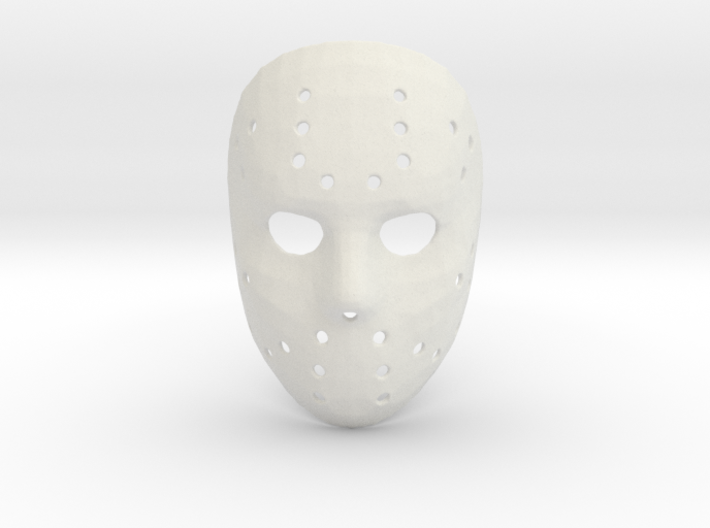 Jason Voorhees Mask (Small) 3d printed