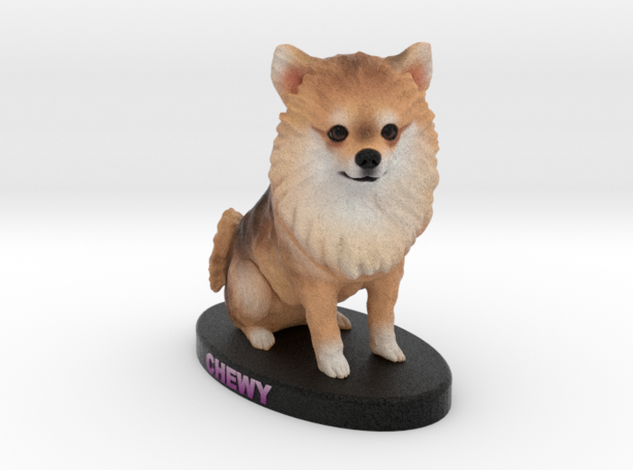 Custom Dog Figurine - Chewy 3d printed
