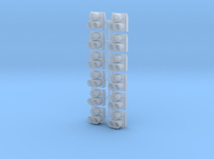SP Rear Cluster (N - 1:160) 12X 3d printed